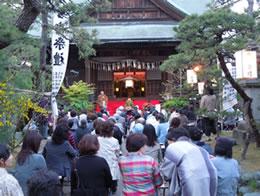 和服で雅楽を楽しむ会(2014年10月 新潟市内)