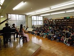 ふれあいトリオコンサート(2013年10月 南魚沼市、2015年4月 佐渡市)
