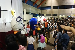 みんなの防災フェア(2017年9月30日、10月1日ハイブ長岡)